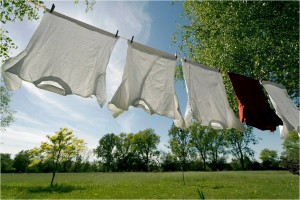 Dry clothes - save energy!